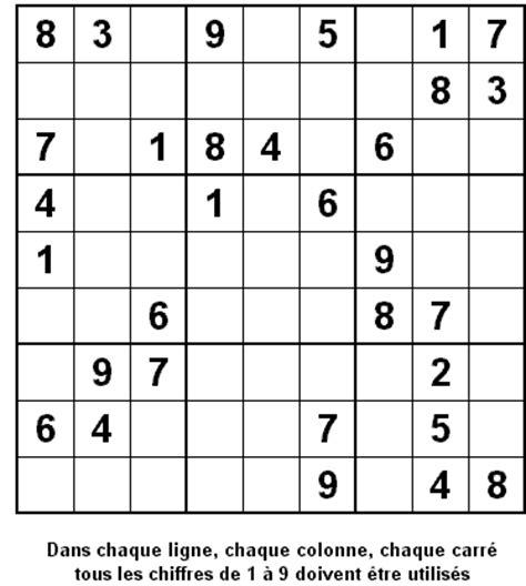 Grille De Sudoku Facile à Imprimer by Sudoku Gratuit Imprimer Grille Sudoku Gratuit