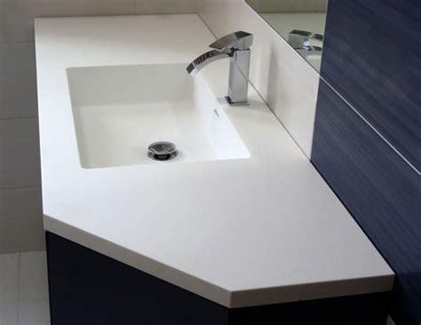 corian oberfläche top da bagno in corian a napoli esempi di lavabi e