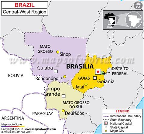 central west region  brazil