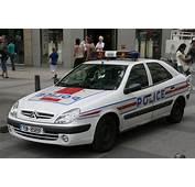 Police Car Photos  Citro&235n Xsara Paris