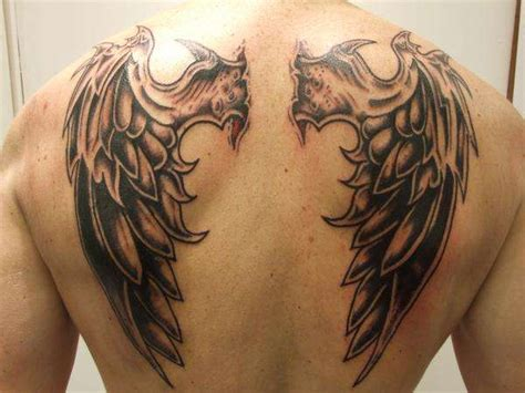 my designs wings tattoos