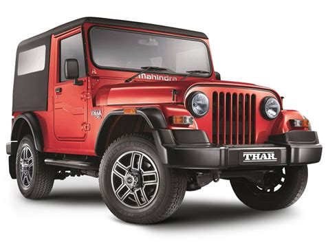 mahindra thar mahindra thar crde 4x4 bs iv price specifications review