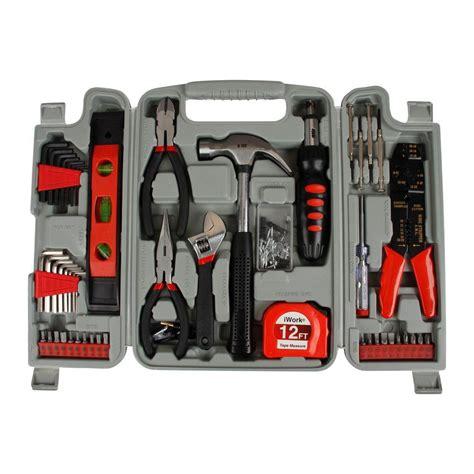 olympia tool sets diy homeowner s tool set 89 80