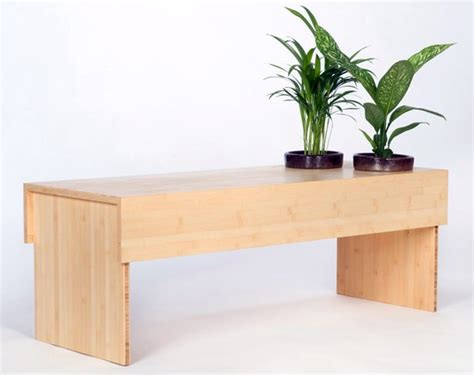bench for plants eco friendly bamboo bench also grows plants urban gardens