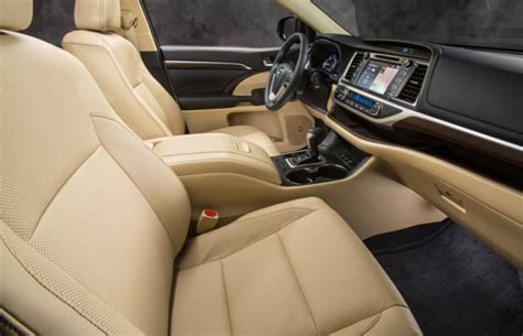 toyota highlander 2016 interior 2016 toyota highlander review and release date hybrid