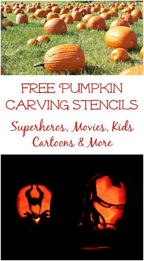 pumpkin carving stencils  kids  teens