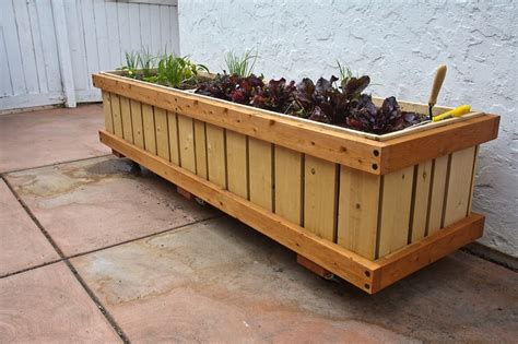 Rolling Planters by 1000 Images About Planted Rollingplanters Mobile Planters On Wheels On