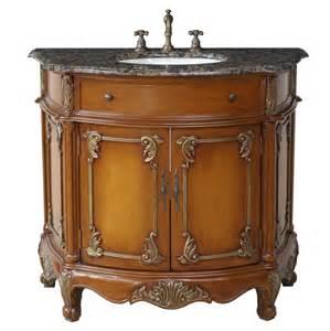 Vanities Of Yesteryear Stufurhome Juno 40 Antique Single Sink Bathroom Vanity Gm