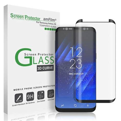Healing Shield Galaxy S8 Screen Protector Curvedfit Prime 10 best samsung galaxy s8 screen protectors