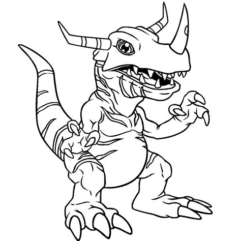 printable digimon coloring pages coloring me