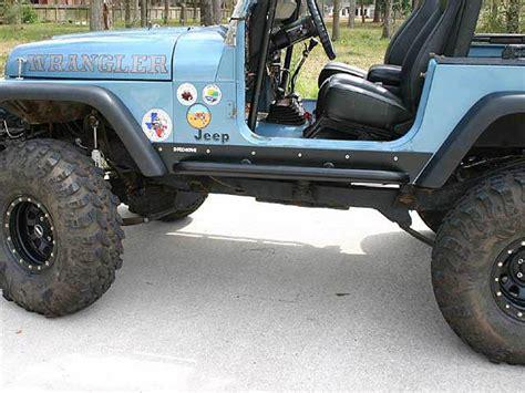Rock Sliders Jeep Jeep Yj Rock Sliders Rocker Guards Rocker Protection