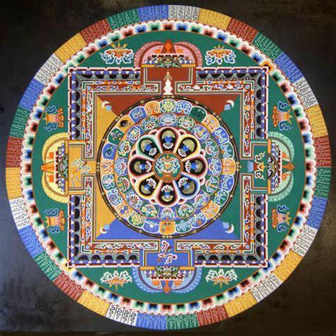 mandala pattern history allan hancock college tibetan monks to create medicine