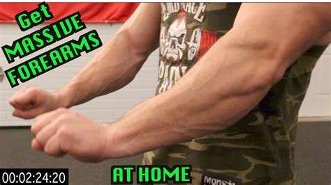 5 minute at home forearm workout