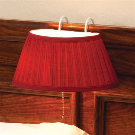 headboard book light over the bed light with colored shade bedside l
