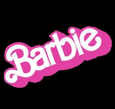 printable barbie font fonts logo 187 barbie before 1999 logo font