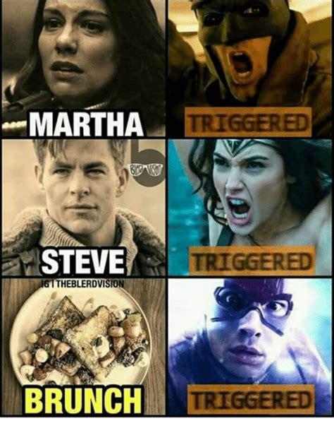 Martha Meme - 4 martha triggered steve theblerdvision triggered meme