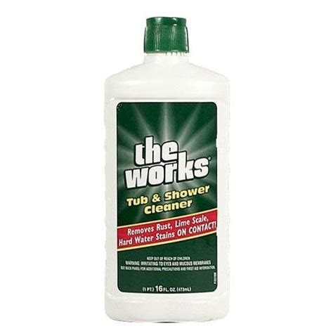 wholesale the works tub shower cleaner glw