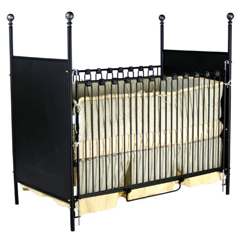 Wrought Iron Baby Crib by Baby Cribs Metal Cribs Corsican 4 Poster Cribs