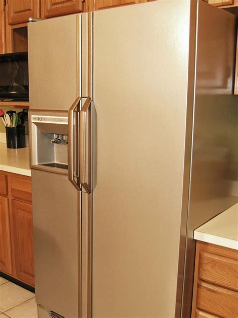 how to paint kitchen appliances how to update your kitchen with stainless steel paint