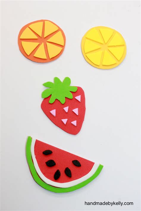 Home Decor Craft Ideas by 12 Fun And Colorful Fruit Crafts