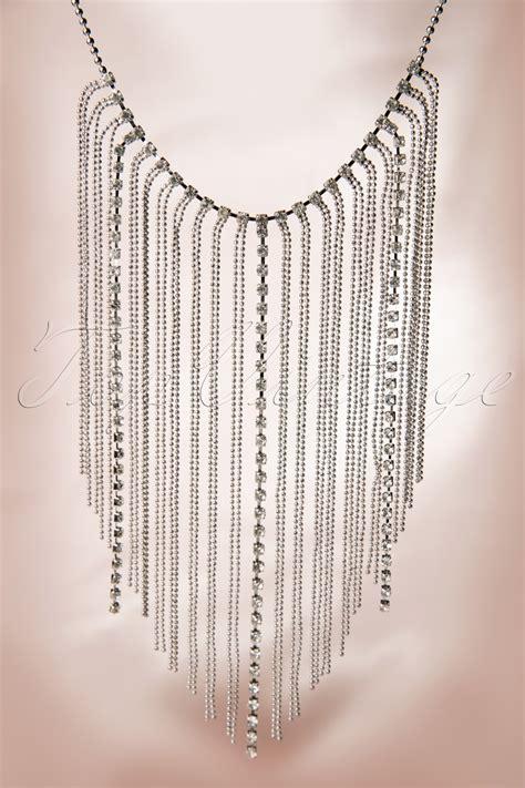 swing 1920s 1920s swing like the roaring twenties silver necklace