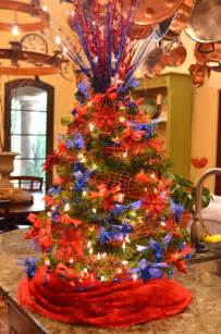 Themed Decorated Christmas Trees - remembering our troops at christmas time after orange county