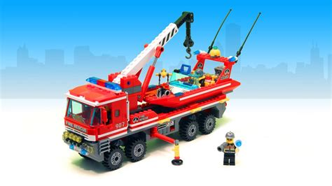 toy boat with fire fire truck boat construction game fire boat for children