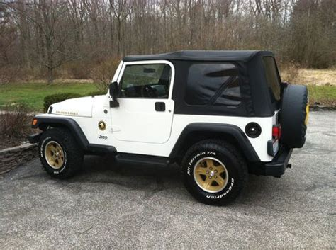 2006 jeep golden find used 2006 jeep wrangler golden eagle in mentor ohio