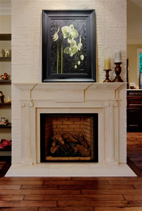 Fireplace Mantels Island by Mercer Island Residence Transitional Fireplace Mantels