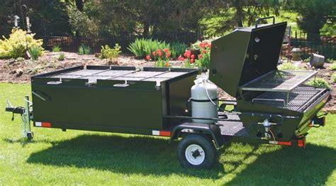 Handmade Bbq - custom bbq trailers from meadow creek