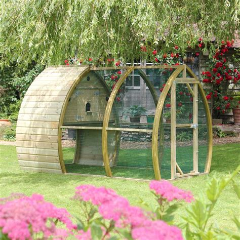 Rabbit Cage Hutch The Arch House Bird Aviary Designed And Made In England By