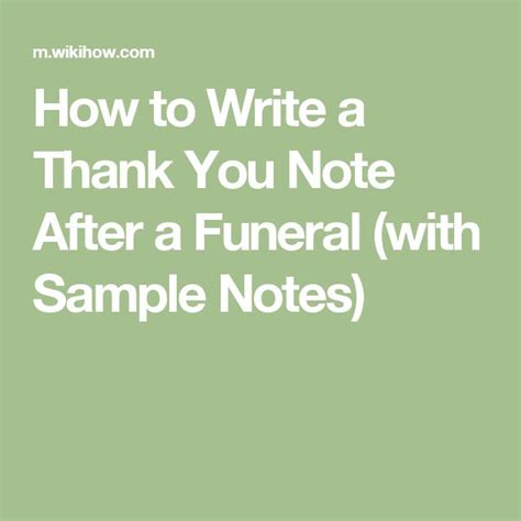 thank you letters after a funeral 25 great ideas about funeral thank you notes on
