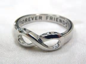 Friends Forever Infinity Infinity Ring Forever Friends Infinity Ring Infinity