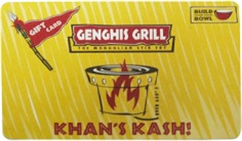 Genghis Grill Gift Card - buy genghis grill gift cards at a 6 discount giftcardplace