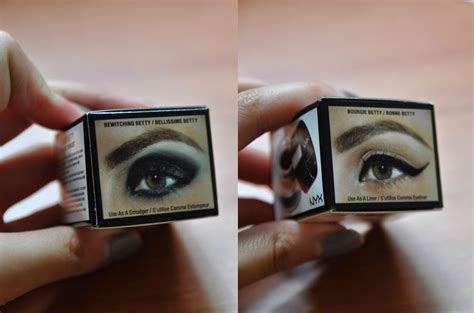 Nyx Eye Liner Gel Eyeliner nyx gel liner and smudger review the ravings of an