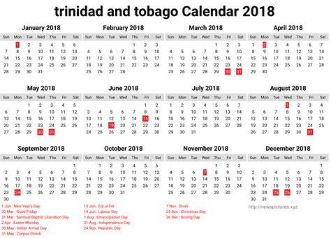 And Tobago Kalendar 2018 Printable July 2017 To June 2018 Calendar Printable