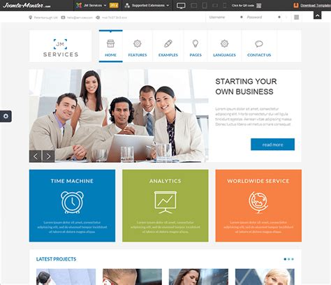 template joomla responsive blog best free responsive templates for joomla 3 x