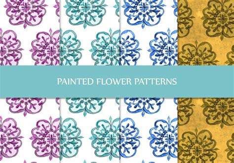floral pattern brush photoshop painted floral patterns free photoshop patterns at
