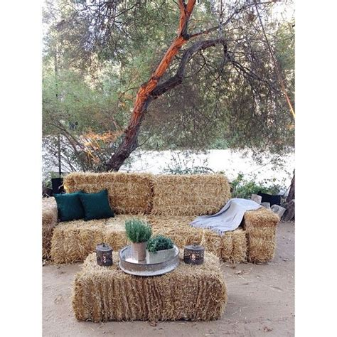 hay bale sofa best 25 hay bale couch ideas on pinterest