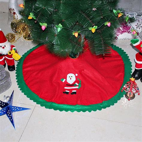 cheap huggit tree wraps christmas solders 90cm santa claus tree skirt tree skirts tree decoration merry supplies