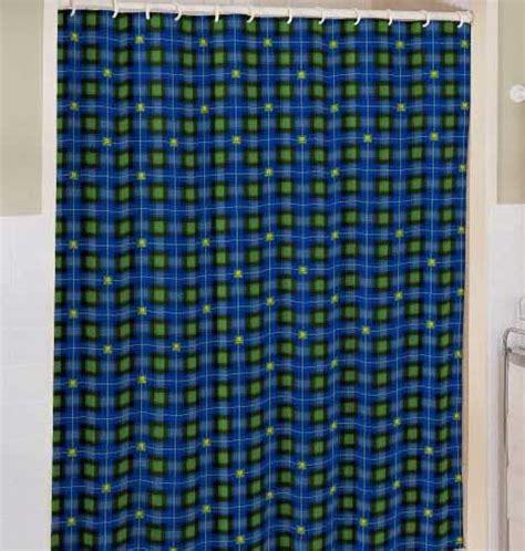 john curtain john deere plaid shower curtain