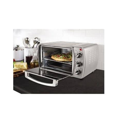 Oster Brushed Stainless Convection Countertop Oven by Oster 6 Slice Convection Countertop Oven Brushed