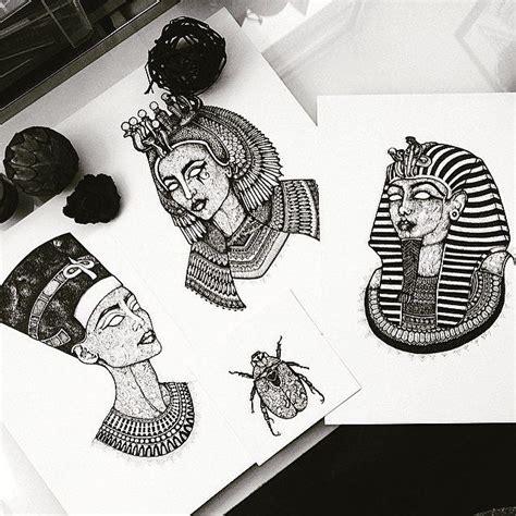 cleopatra tattoo designs murderandrose pinteres