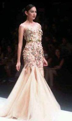 model gaun ivan gunawan beautiful on pinterest