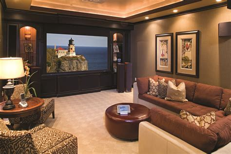 remodel  basement   home theater audio impact