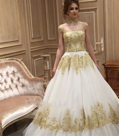 Ivory Wedding Dresses by Get Cheap Ivory Gold Wedding Dress Aliexpress