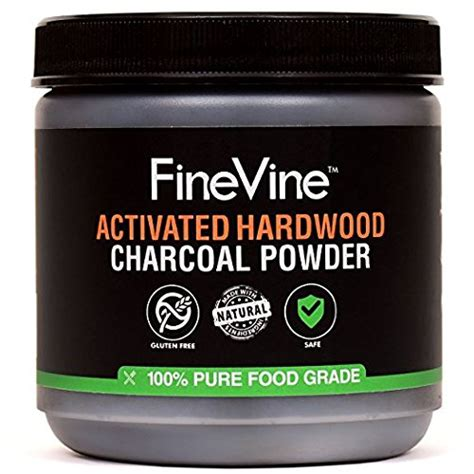 activated hardwood charcoal powder   usa food