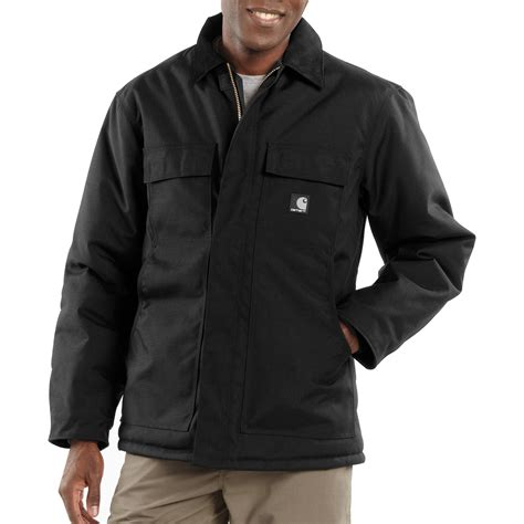 carhartt coat carhartt s extremes arctic quilt lined coat black regular sizes model c55