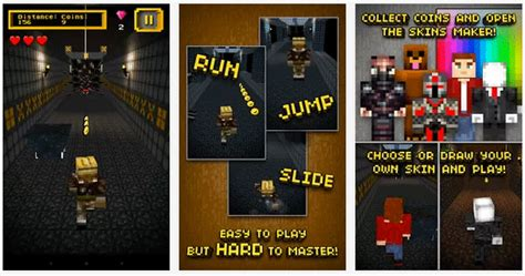 mine run 3d pocket block escape with skins maker for character minecraft pc edition 2 mine run 3d escape 2 temple 187 android 365 free android