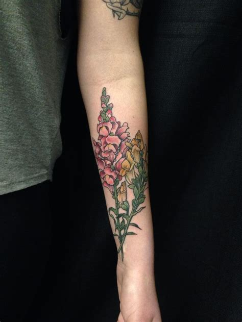snapdragon tattoo watercolor snapdragon by pooka ocho